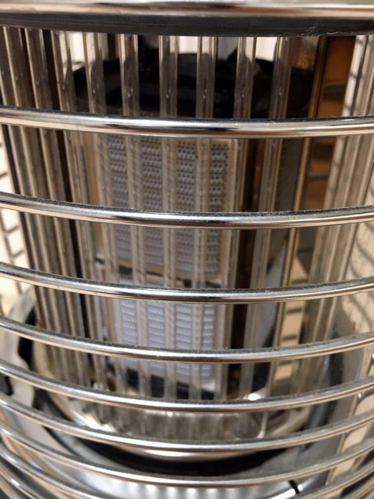 中古 Rinnai リンナイ LPガス用 プロパン ガス赤外線ストーブ 4500セラミックヒーター R-1290VMSⅢ R-1290VMS3-401_画像4