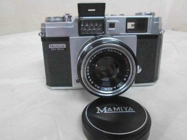 MAMIYA★マミヤ★Auto-Metra★アンティーク★カメラ★ケース付き_画像2