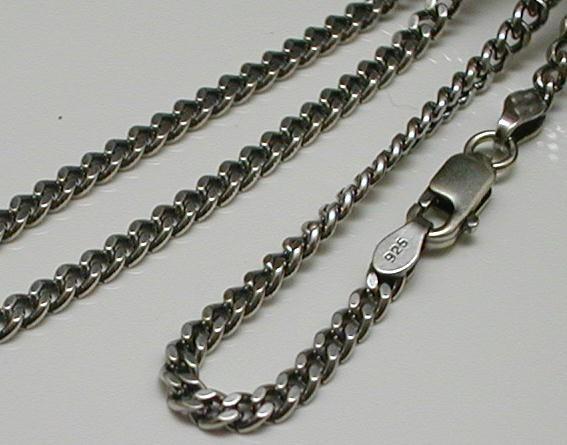 ネックレス メンズ 喜平ネックレス シルバー925 燻し加工 シルバーネックレス メンズネックレス シルバーチェーン シルバーチェーン DX850