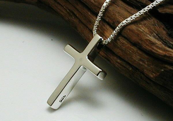 ネックレス メンズ シルバー925 クロスネックレス 十字架ネックレス シルバーネックレス メンズネックレス レディース K5121vt_画像3