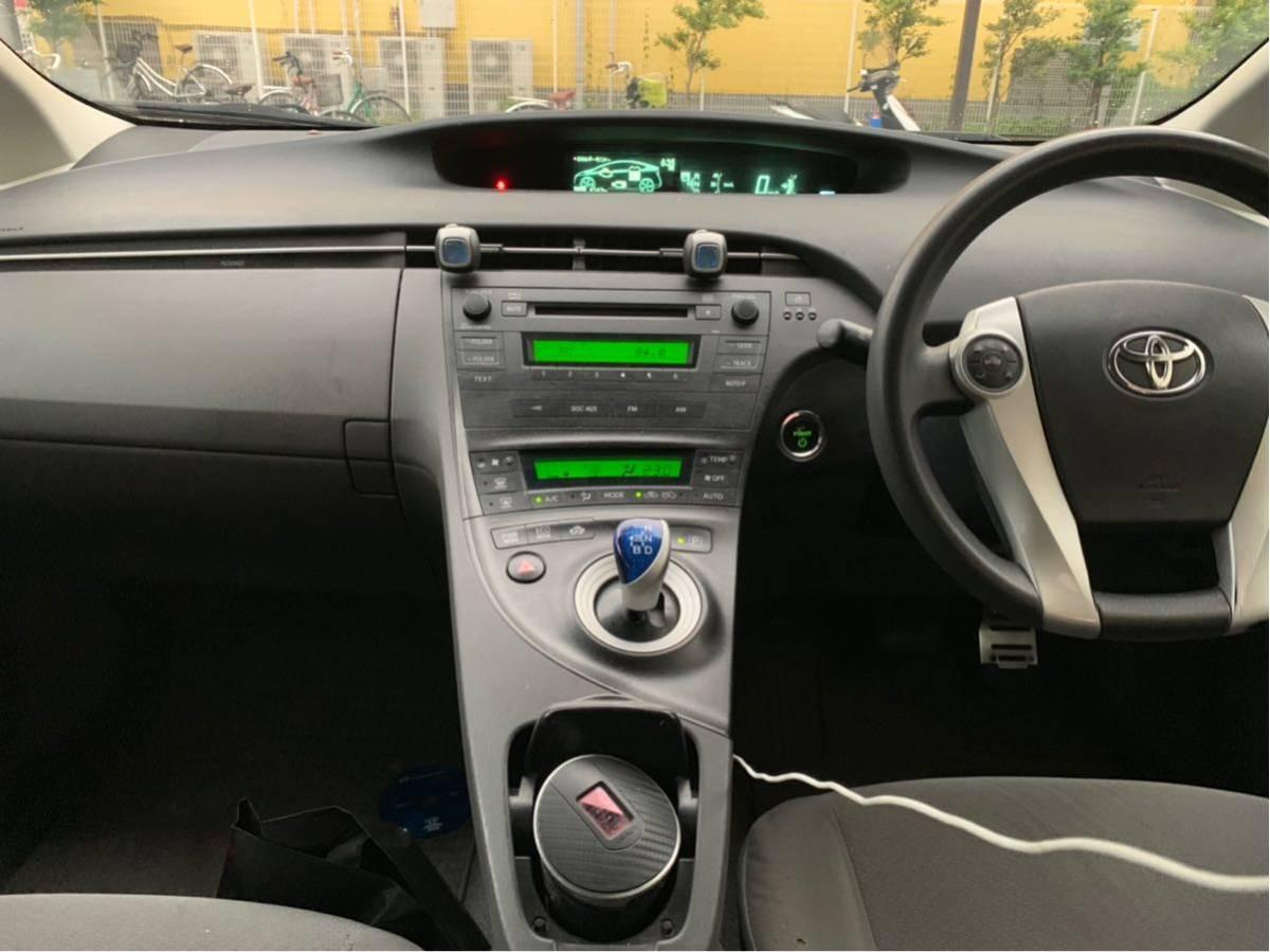 トヨタ 30プリウス 前期 車検付き ハイブリッドバッテリー交換済み 乗り出し即決込み込み33万円!下取り、交換OK_画像4