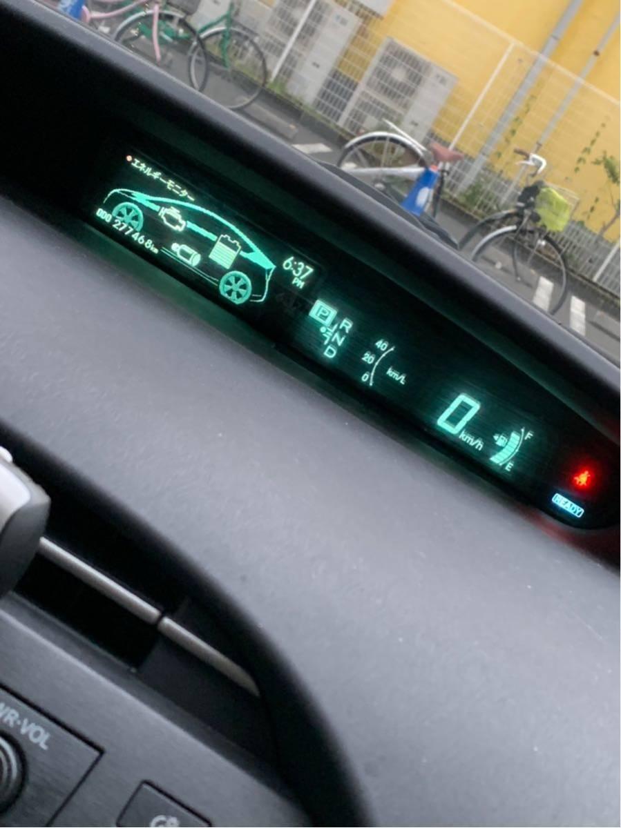 トヨタ 30プリウス 前期 車検付き ハイブリッドバッテリー交換済み 乗り出し即決込み込み33万円!下取り、交換OK_画像6