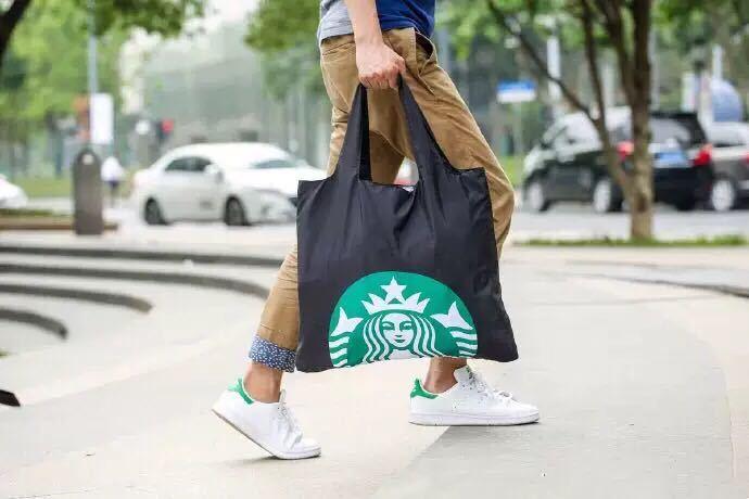 台湾 スターバックス 韓国 中国 海外 トートバッグ ショルダーバッグ かばん 鞄 スタバ エコバッグ ポーチ バック 袋_画像1