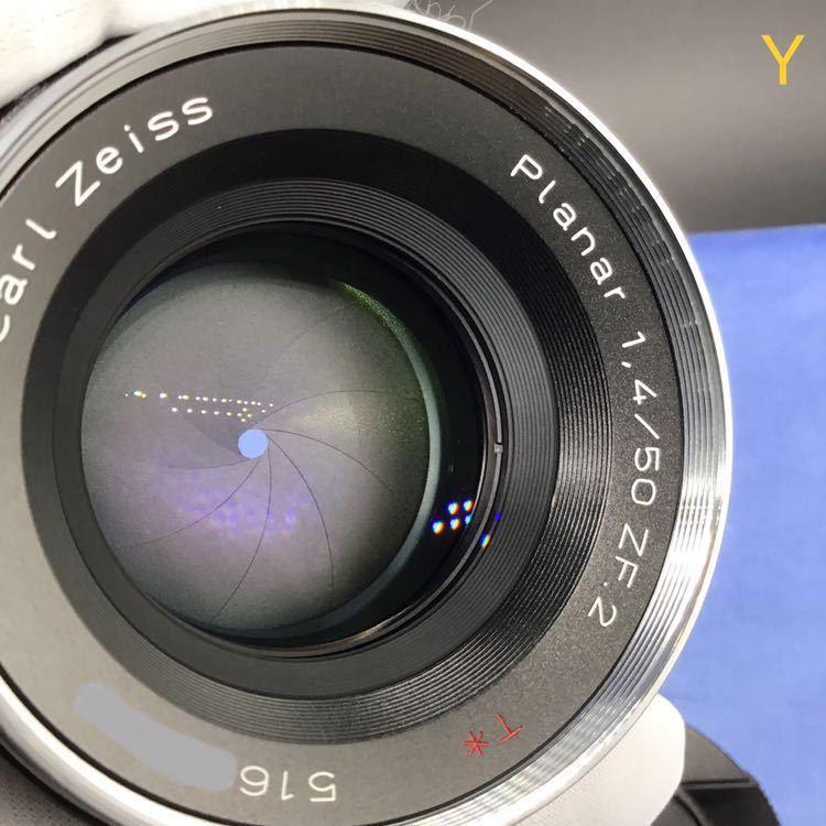 Carl Zeiss PLANER T*1.4 50mm f1.4 ZF2 NIKON ほぼ未使用 メーカーメンテナンス後出品 カールツァイス プラナー 未使用 DF Fマウント_画像7