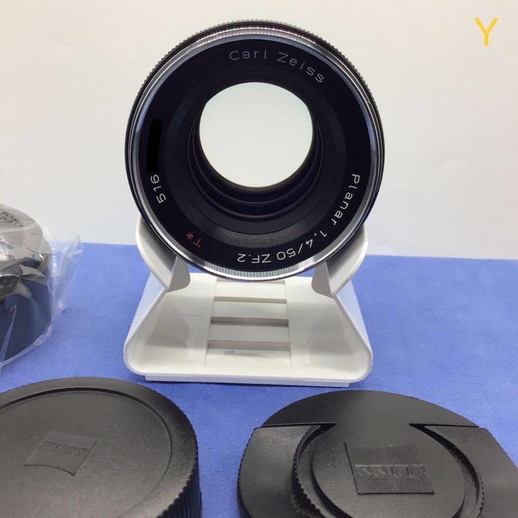 Carl Zeiss PLANER T*1.4 50mm f1.4 ZF2 NIKON ほぼ未使用 メーカーメンテナンス後出品 カールツァイス プラナー 未使用 DF Fマウント_画像3