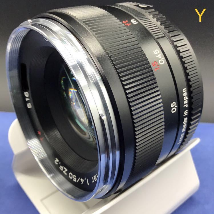 Carl Zeiss PLANER T*1.4 50mm f1.4 ZF2 NIKON ほぼ未使用 メーカーメンテナンス後出品 カールツァイス プラナー 未使用 DF Fマウント_画像4