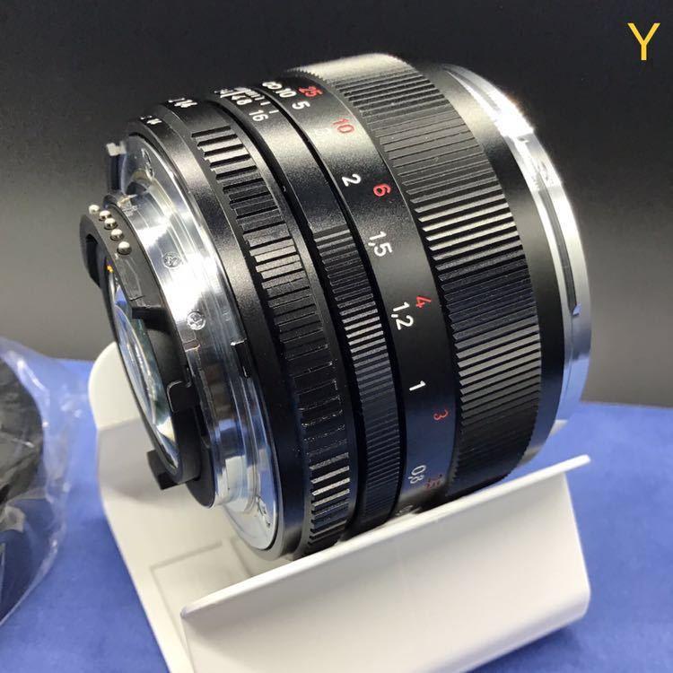 Carl Zeiss PLANER T*1.4 50mm f1.4 ZF2 NIKON ほぼ未使用 メーカーメンテナンス後出品 カールツァイス プラナー 未使用 DF Fマウント_画像6