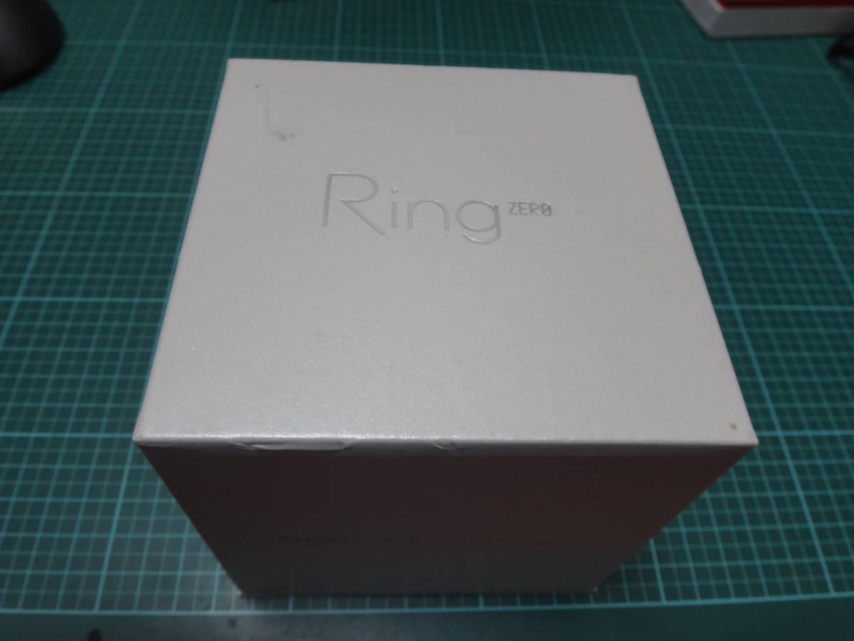 ★☆激レア:指輪型ウェアラブル 「Ring ZERO」白Lサイズ:中古美品☆★_画像4