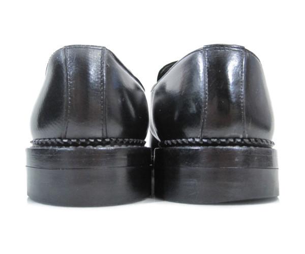 即決★REGAL メンズ 24EE ブラック★リーガル 本革 レザー シングル モンクストラップ ビジネスシューズ 黒 革靴 紳士靴 ドレスシューズ_画像8