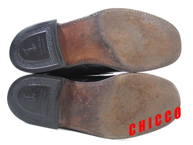 即決★REGAL メンズ 24EE ブラック★リーガル 本革 レザー シングル モンクストラップ ビジネスシューズ 黒 革靴 紳士靴 ドレスシューズ_画像4