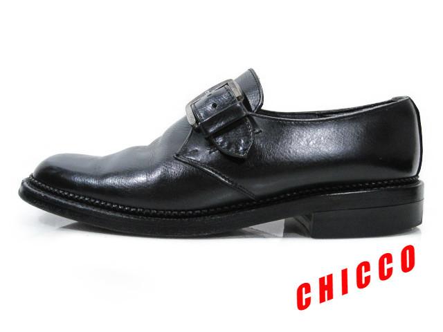 即決★REGAL メンズ 24EE ブラック★リーガル 本革 レザー シングル モンクストラップ ビジネスシューズ 黒 革靴 紳士靴 ドレスシューズ_画像3