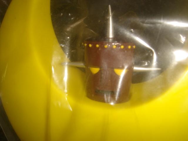 幻の名作!未開封!メディコム ソフビ ザ ムーン ジョージ秋山 ビンテージモデル 高さ25センチ_画像3