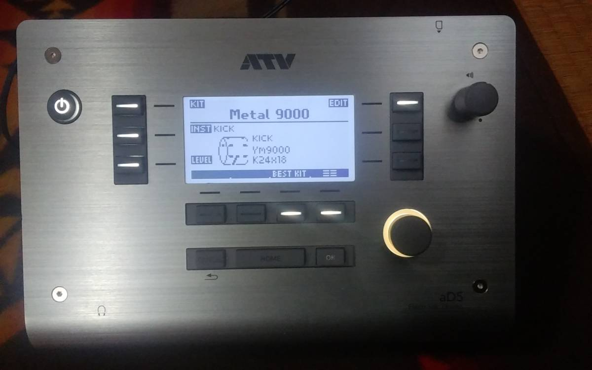 ATV aDrums artist STANDARD set 3シンバルカスタム  中古_画像2