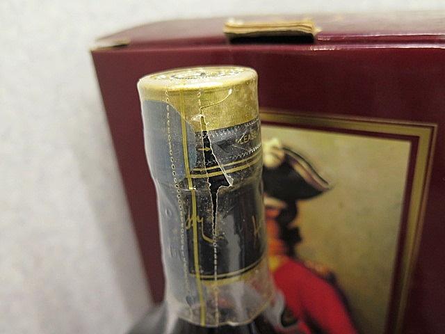 ★☆【古酒】Hennessy XO COGNAC ヘネシー 金キャップ クリアボトル 700ml 4本セット ot☆★_画像8