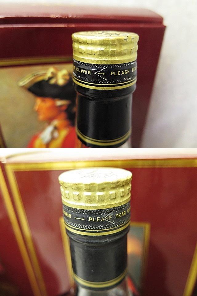★☆【古酒】Hennessy XO COGNAC ヘネシー 金キャップ クリアボトル 700ml 4本セット ot☆★_画像10
