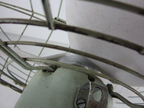 N32★ 昭和レトロ Fuji Denki SILENT FAN 扇風機 ★ ジャンク_画像10