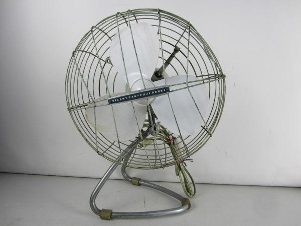 N32★ 昭和レトロ Fuji Denki SILENT FAN 扇風機 ★ ジャンク