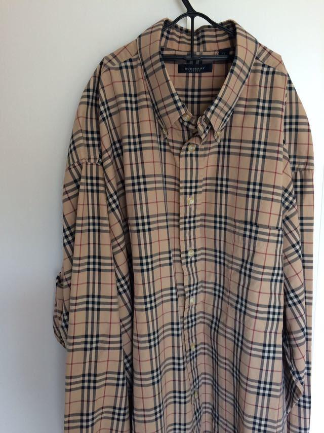 バーバリー Burberry ノバチェック シャツ XL