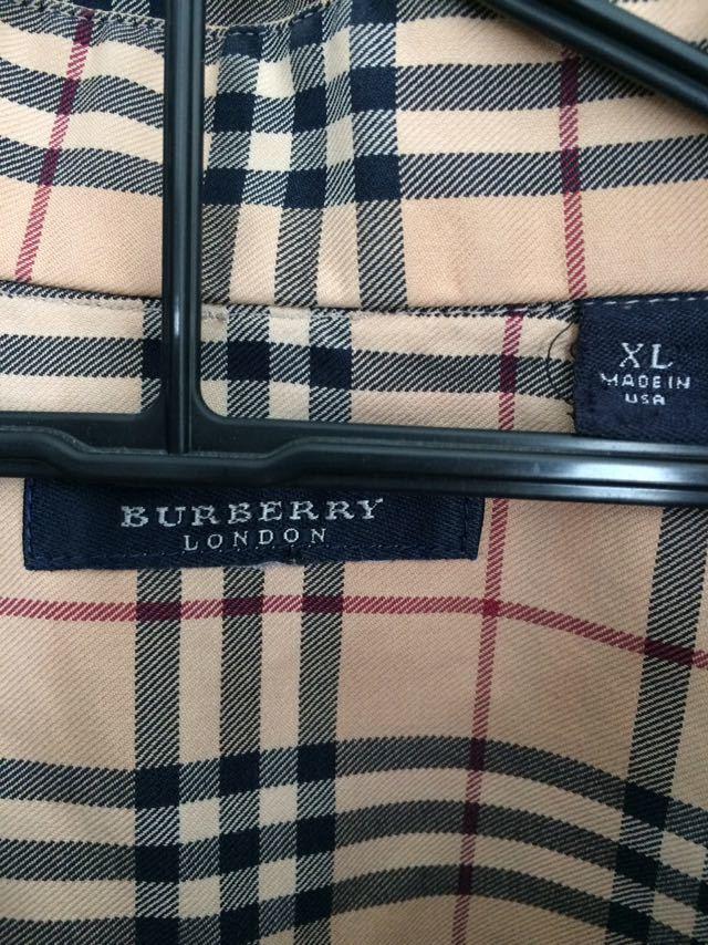 バーバリー Burberry ノバチェック シャツ XL_画像3