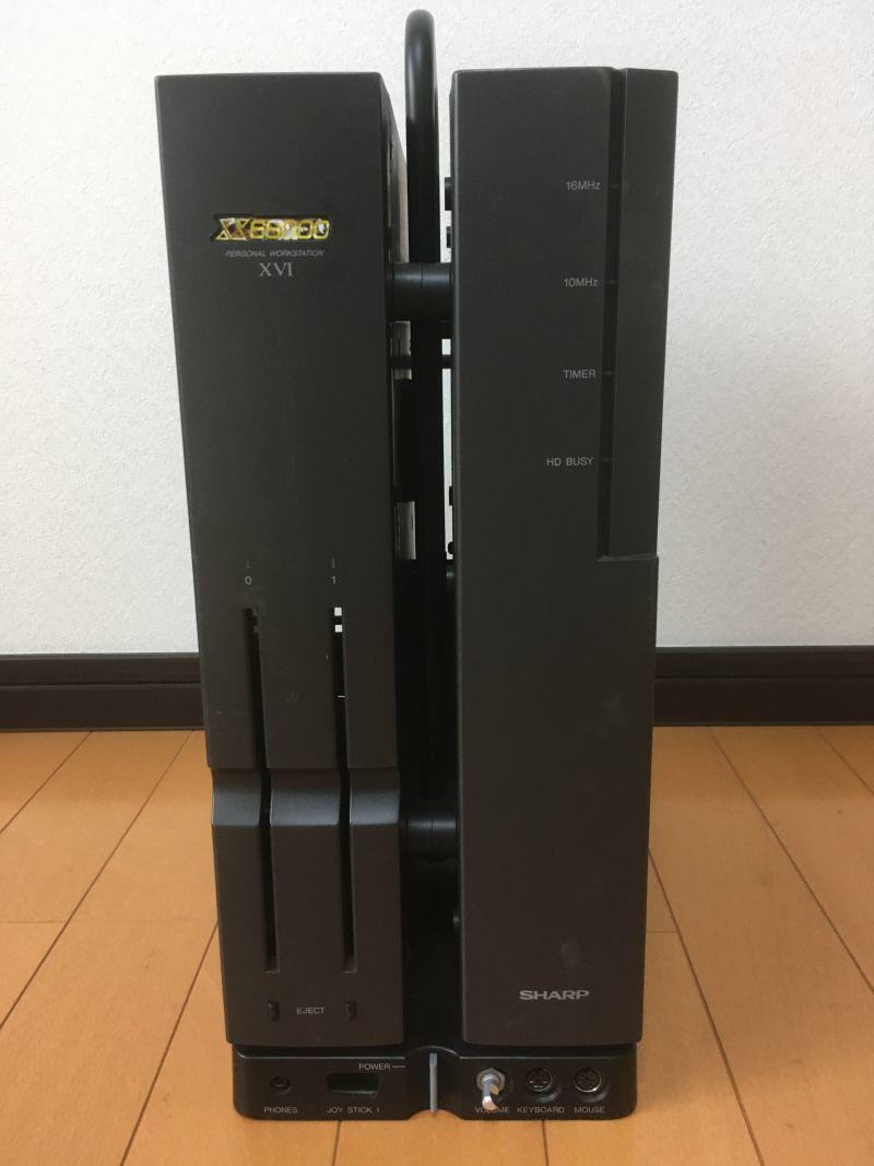 X68000 XVI ケース他
