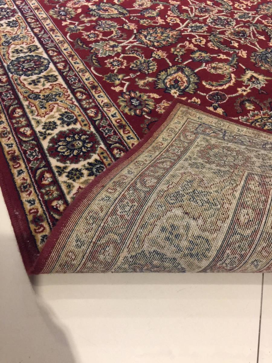 【傑作】ペルシャ絨毯 シルク タブリー_画像3