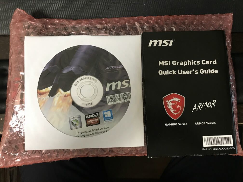【新品 - 送料無料】MSI Radeon RX 470 ARMOR 8G
