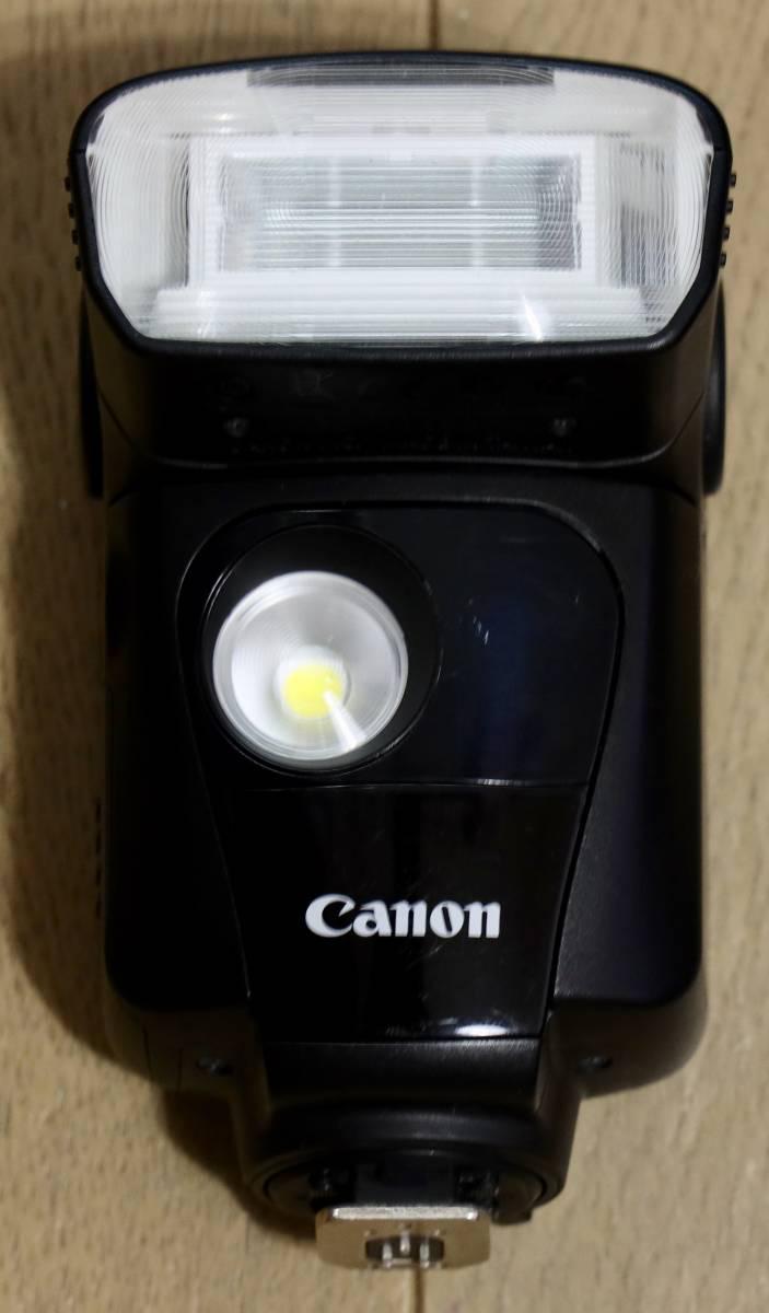 キャノン純正スピードライト 320EX ワイヤレス LED CANON 1円スタート_画像3