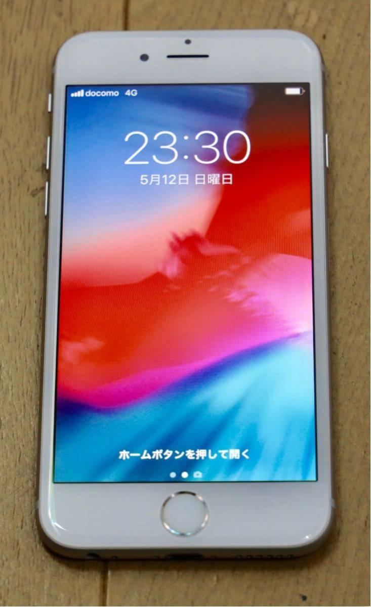 【美品】iPhone 6S シルバー 16GB docomo ネットワーク利用制限◯ 格安SIM利用可能 1円スタート