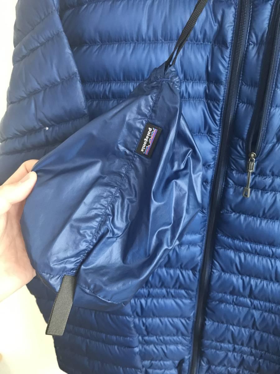 パタゴニア ウルトラライトダウンジャケット Sサイズ CHB チャンネルブルー インサレーション Patagonia Ultralight Down Jacket_画像4