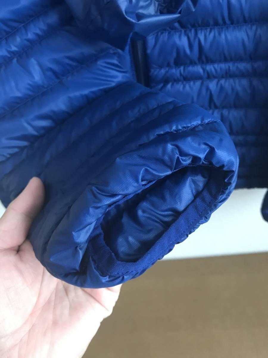 パタゴニア ウルトラライトダウンジャケット Sサイズ CHB チャンネルブルー インサレーション Patagonia Ultralight Down Jacket_画像6