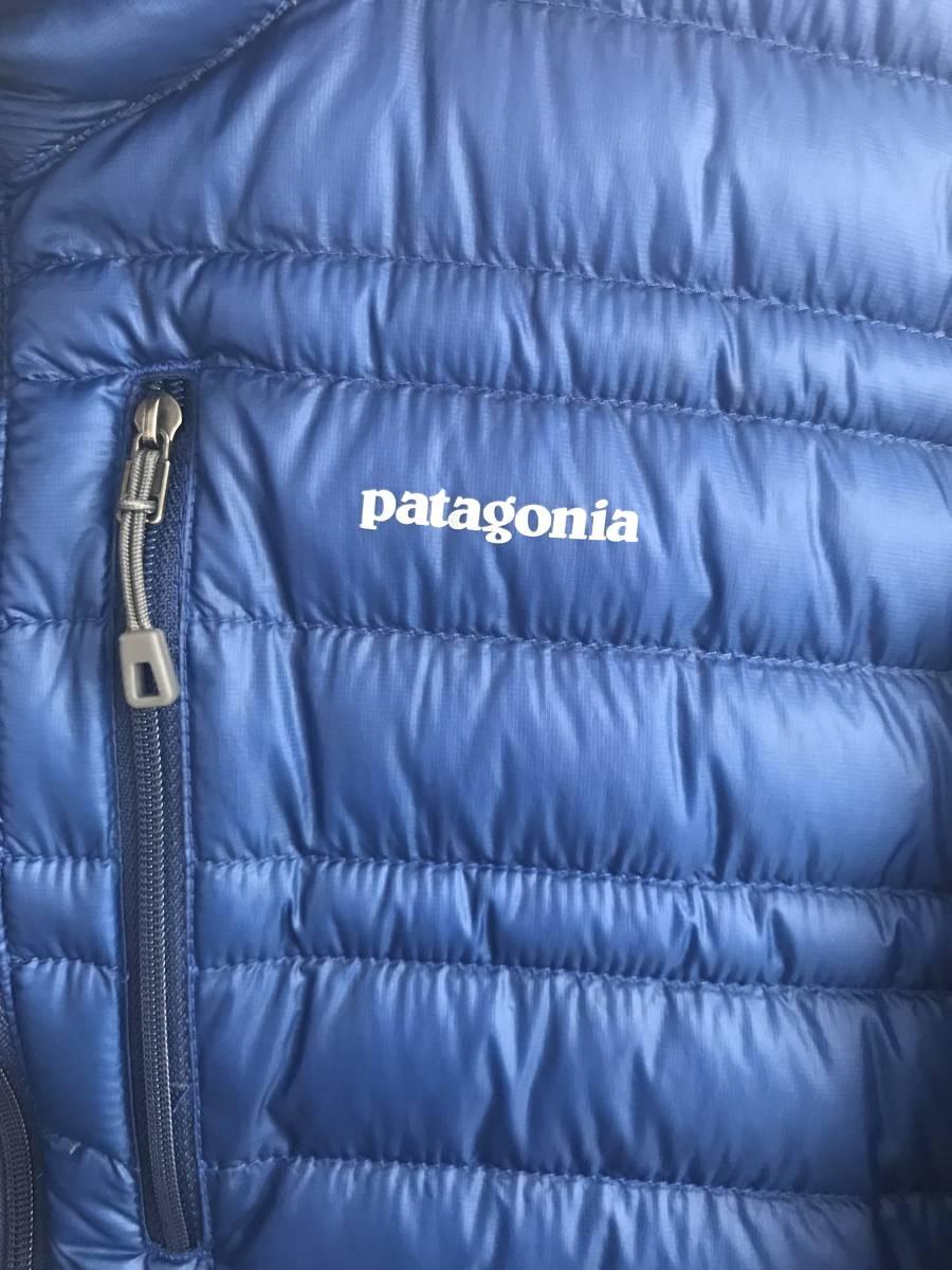 パタゴニア ウルトラライトダウンジャケット Sサイズ CHB チャンネルブルー インサレーション Patagonia Ultralight Down Jacket_画像5