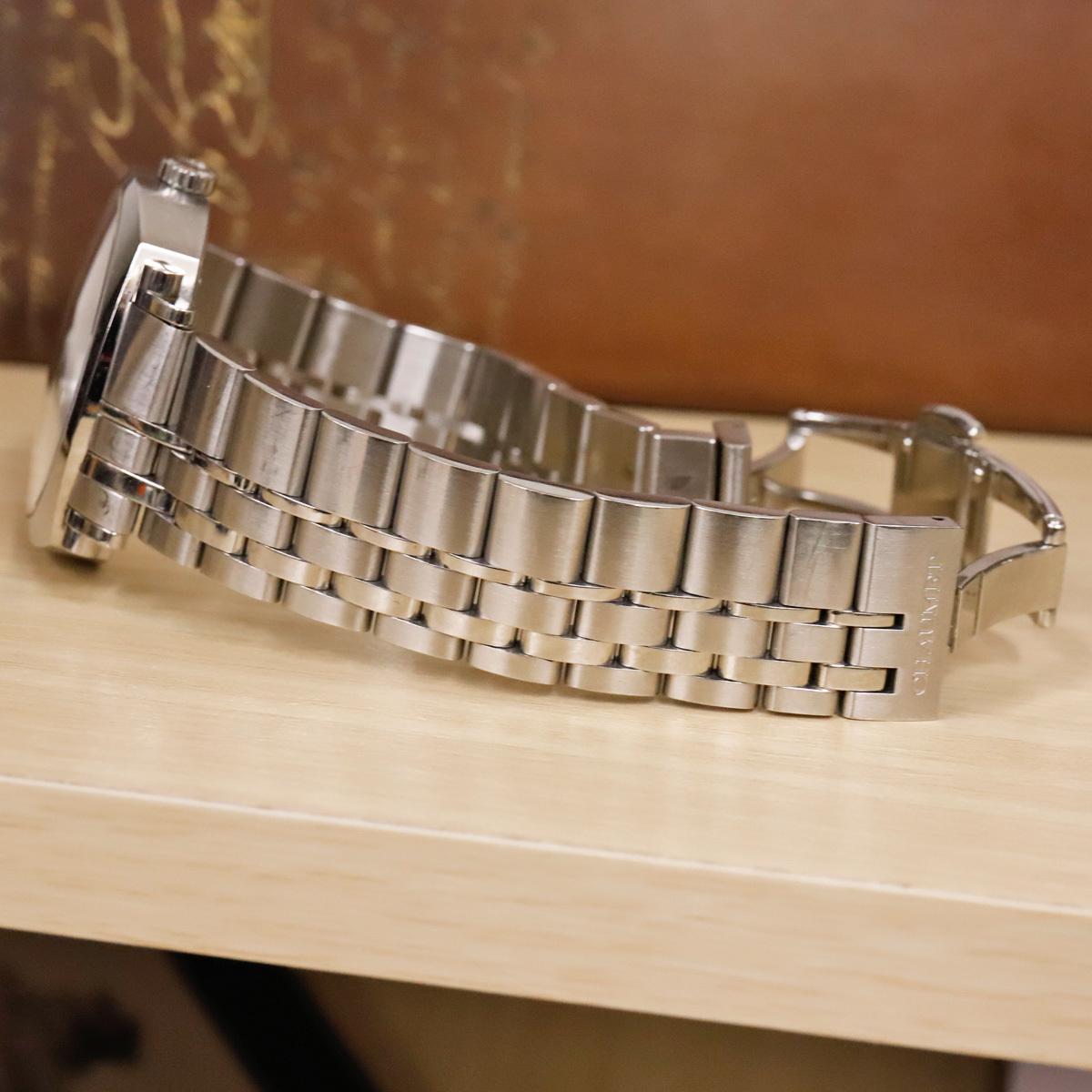 本物 ショーメ 自動巻 ダンディ オートマチック メンズ 純正メタルブレスレットモデル 機械式時計 スイス製 正規品 CHAUMET_画像5