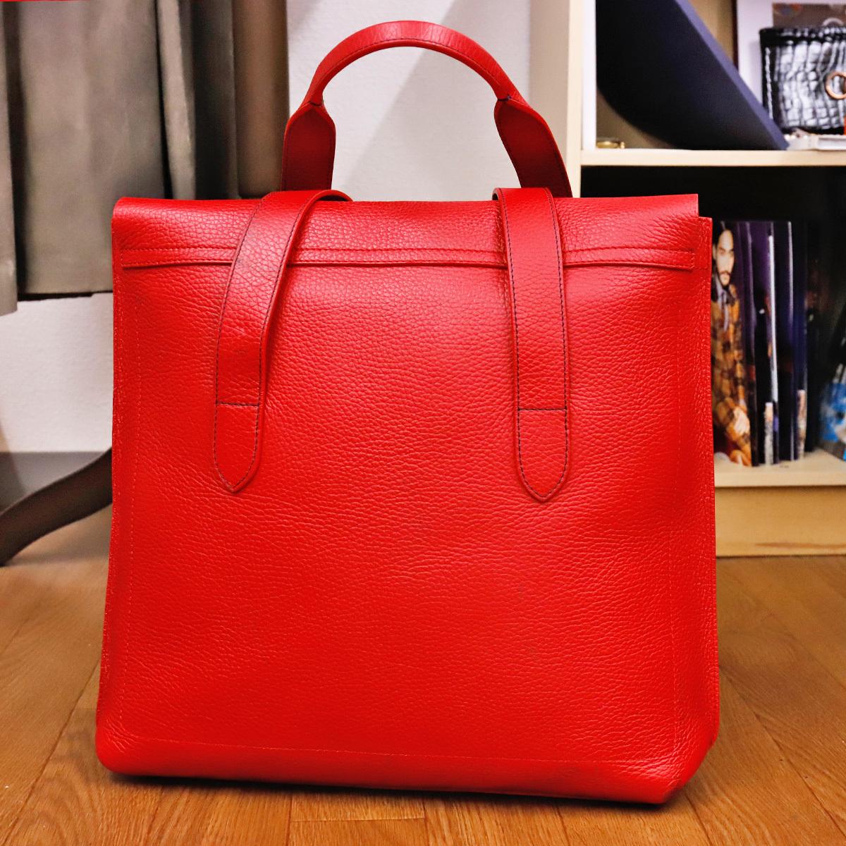 本物 ロエベ 完売モデル メンズコレクションライン トリヨンレザービジネスバッグ(A4書類対応)トートバッグ スペイン製 正規品 LOEWE_画像5