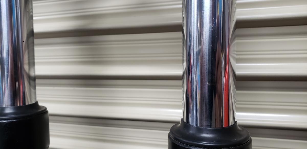 CBR400F純正ステム フロントフォークassyセット 1台バラ売り CBX400F XJ400 GT380 CBX550F CB400F BEET CB750F RZ250 CB250T 当時物_画像5