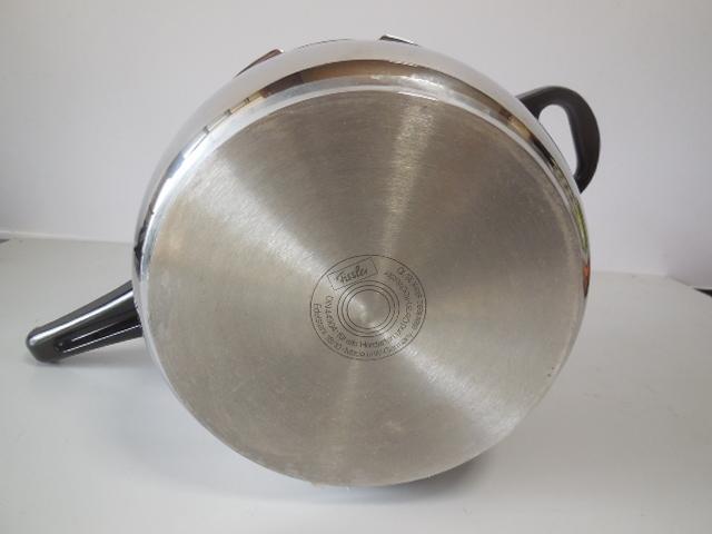 ●Fissler フィスラー圧力鍋 vitavit royal 容量:6L 寸法:22cm ドイツ製高級調理器具_画像7