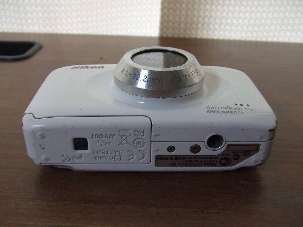 i140 Nikon ニコン COOLPIX S31 デジタルカメラ 本体のみ 本体 中古 難あり_画像6