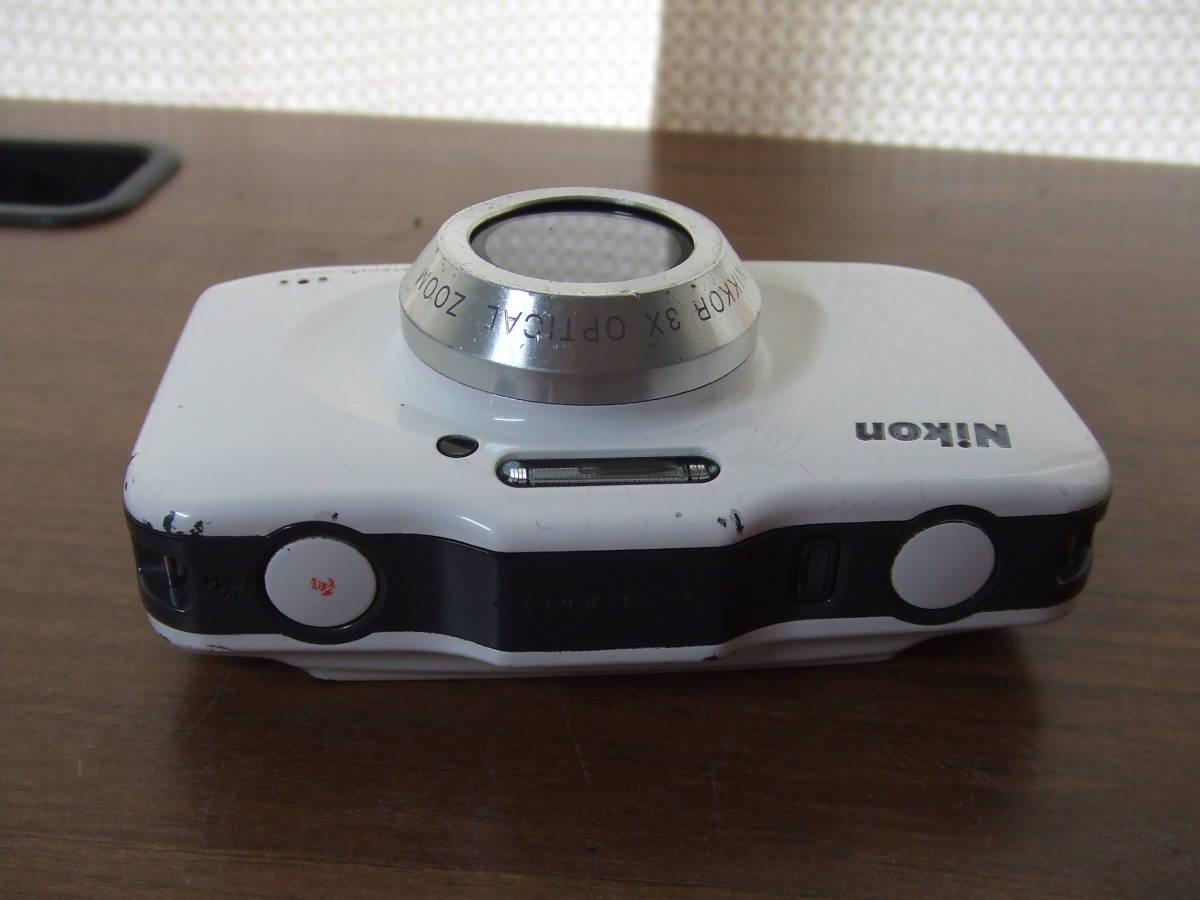i140 Nikon ニコン COOLPIX S31 デジタルカメラ 本体のみ 本体 中古 難あり_画像4