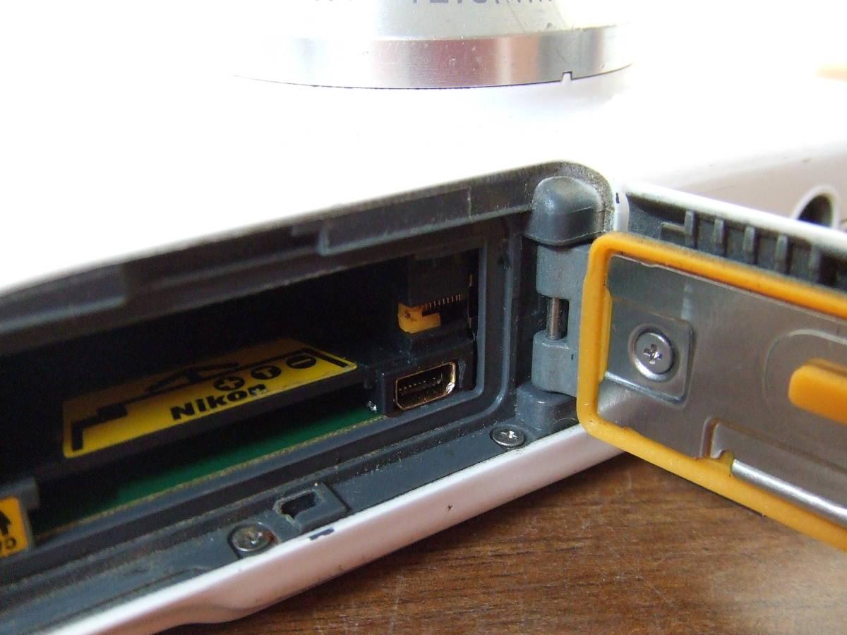 i140 Nikon ニコン COOLPIX S31 デジタルカメラ 本体のみ 本体 中古 難あり_画像7