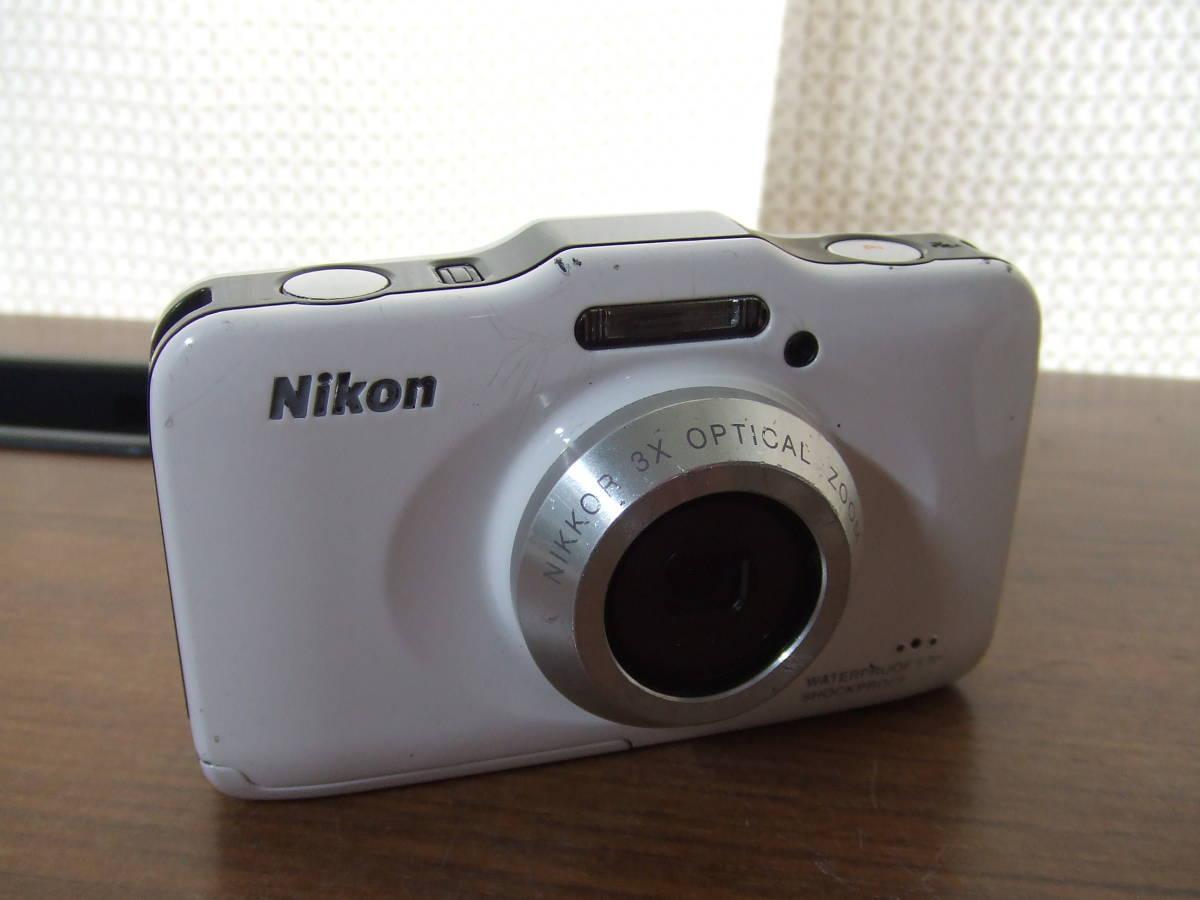 i140 Nikon ニコン COOLPIX S31 デジタルカメラ 本体のみ 本体 中古 難あり