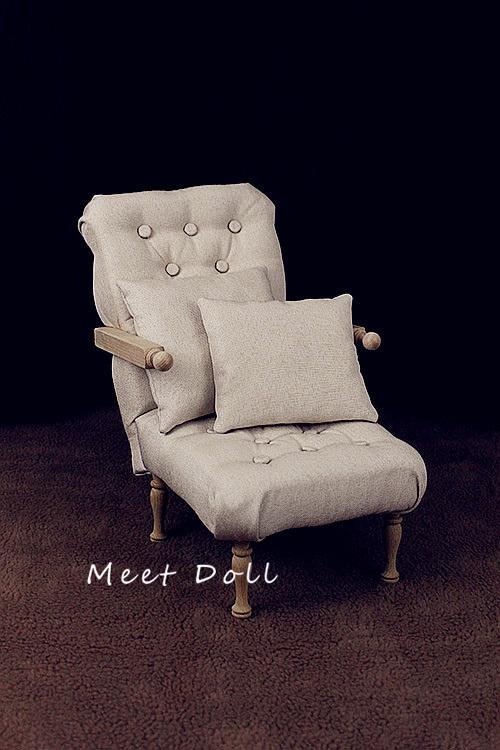 新品 BJD用家具 ソファー SD/68~70cmサイズ 全9色 椅子 家具 ドール用 doll 球体関節人形用 復古 撮影 MDー002_画像1