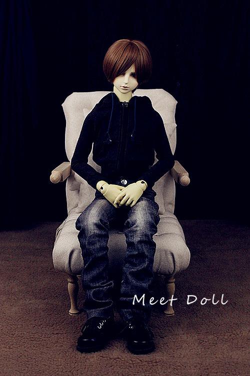 新品 BJD用家具 ソファー SD/68~70cmサイズ 全9色 椅子 家具 ドール用 doll 球体関節人形用 復古 撮影 MDー002_画像5