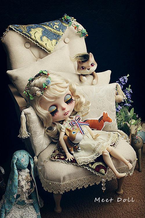新品 BJD用家具 ソファー SD/68~70cmサイズ 全9色 椅子 家具 ドール用 doll 球体関節人形用 復古 撮影 MDー002_画像8