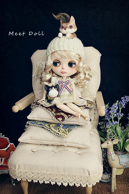 新品 BJD用家具 ソファー SD/68~70cmサイズ 全9色 椅子 家具 ドール用 doll 球体関節人形用 復古 撮影 MDー002_画像9