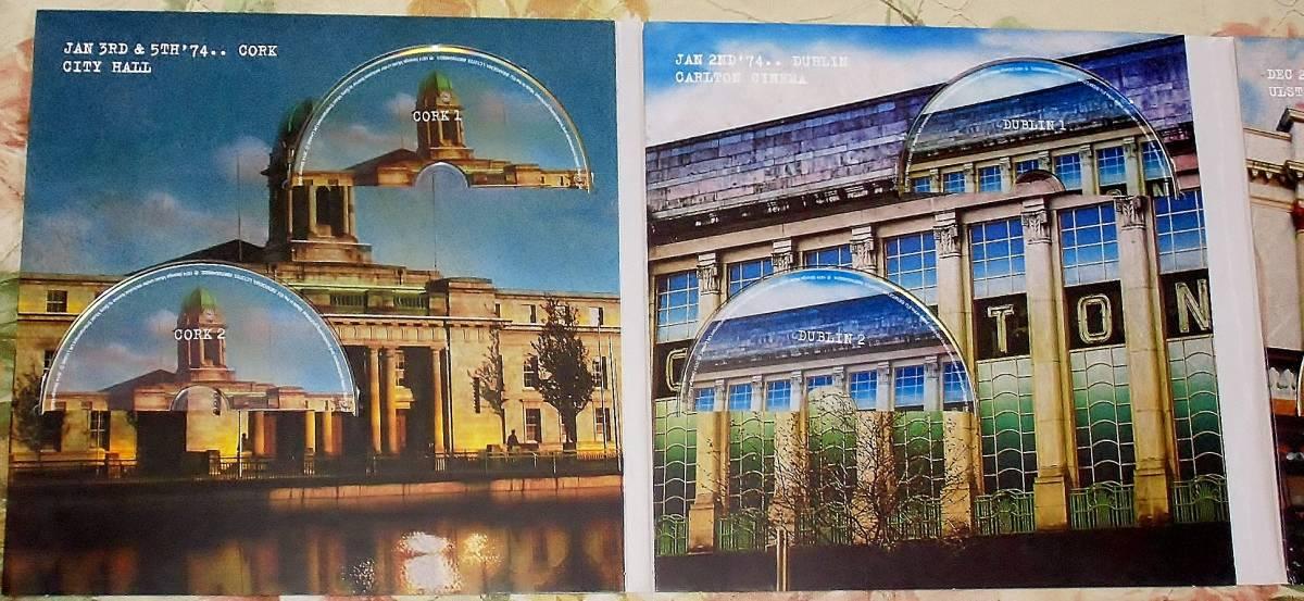 希少 廃盤 初回生産限定盤 RORY GALLAGHER ロリー ギャラガー 「IRISH TOUR '74 (7CD+1DVD)」2014_画像3