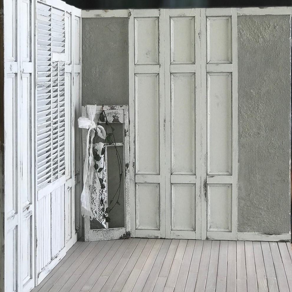 1/6ドールハウス 組立式 momoko ブライス フレンチアンティーク風_画像3