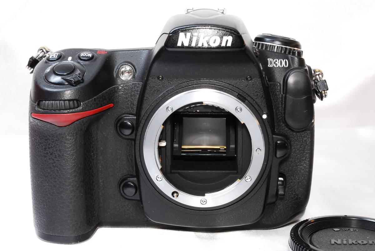 ★【美品】Nikon D300 ★名機と言われたデジタル一眼レフ ★付属品充実!!★バッテリー 充電器 液晶カバー CFカード 取説_画像2