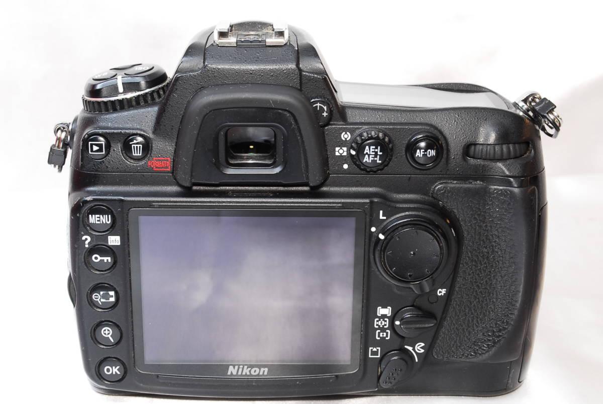 ★【美品】Nikon D300 ★名機と言われたデジタル一眼レフ ★付属品充実!!★バッテリー 充電器 液晶カバー CFカード 取説_画像3