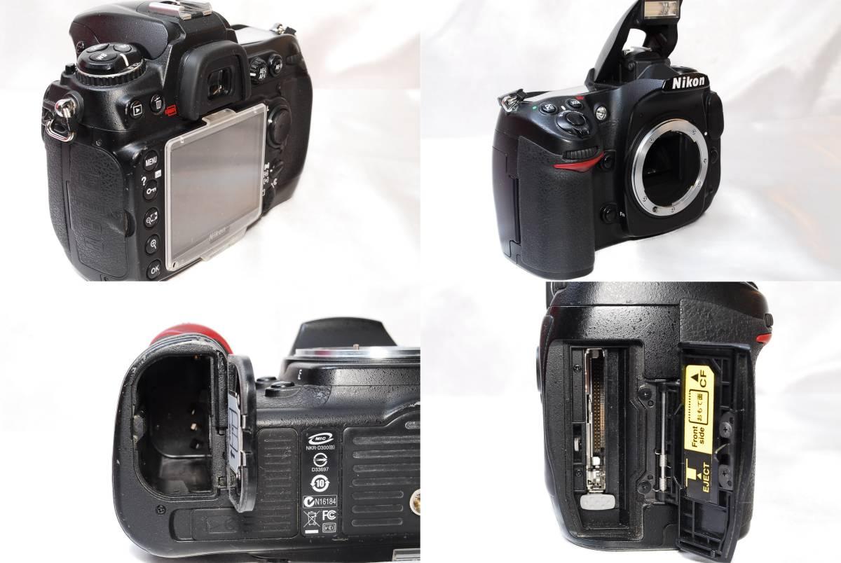 ★【美品】Nikon D300 ★名機と言われたデジタル一眼レフ ★付属品充実!!★バッテリー 充電器 液晶カバー CFカード 取説_画像7