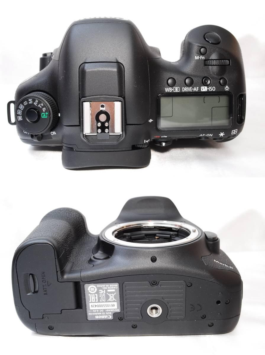 ★【新品級】Canon EOS 7D Mark II マーク2 MK2 MKII ★APS-C機最強一眼レフ ★WiFiアダプター付き ★5 6 60 70 80_画像4