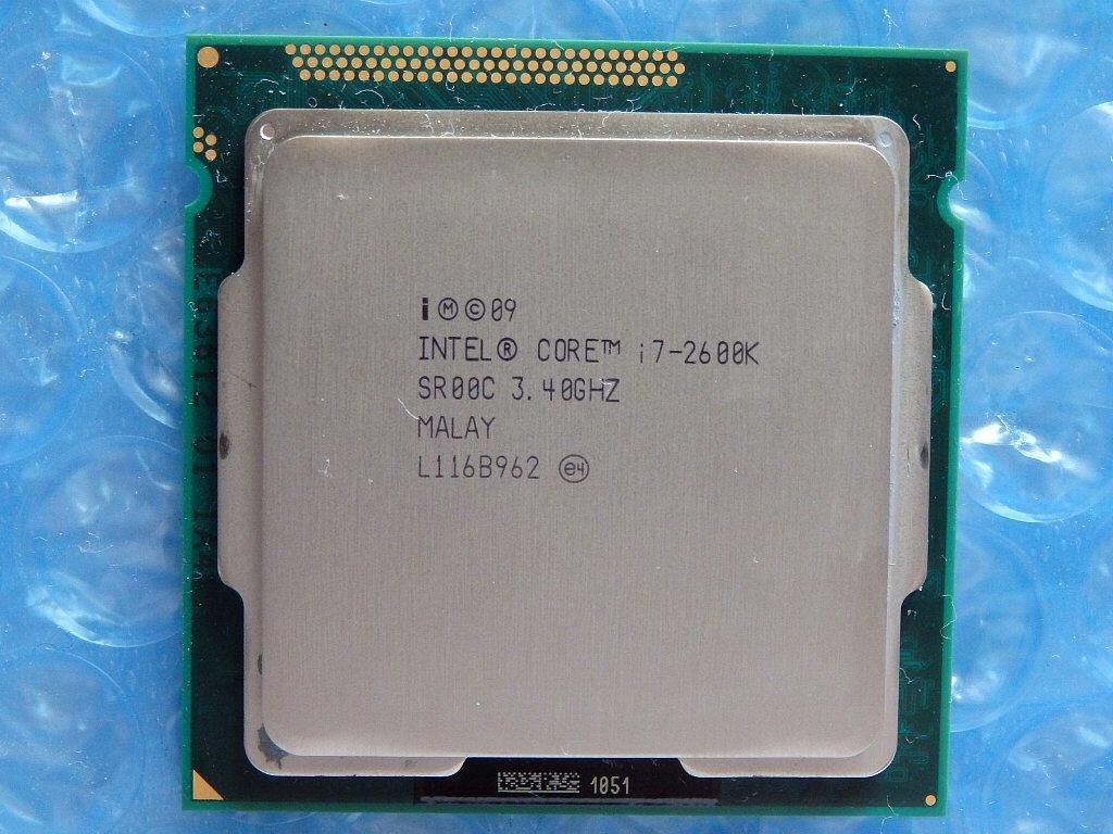 ★★Core i7-2600K/3.4Ghz/LGA1155/SR00C/中古★★